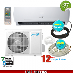 AirCon 18000 Btu 23 SEER 220V Mini Split Heat Pu..